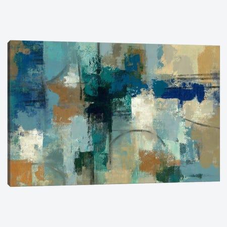 Jasper Lagoon  Canvas Print #WAC1437} by Silvia Vassileva Canvas Art Print