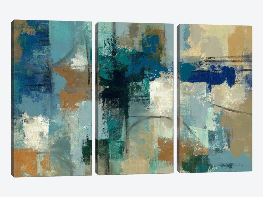 Jasper Lagoon  by Silvia Vassileva 3-piece Art Print