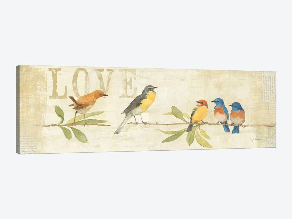Adoration of the Magpie Panel I  by Avery Tillmon 1-piece Canvas Wall Art