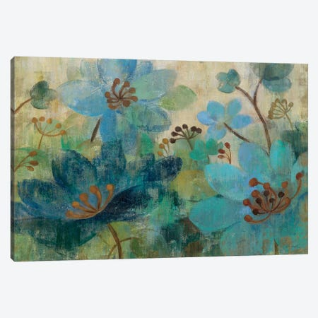 Peacock Garden  Canvas Print #WAC1448} by Silvia Vassileva Canvas Print