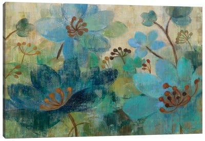 Peacock Garden  Canvas Print #WAC1448