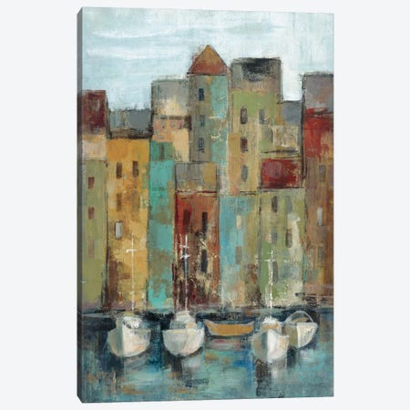 Old Town Port I  Canvas Print #WAC1449} by Silvia Vassileva Canvas Art Print