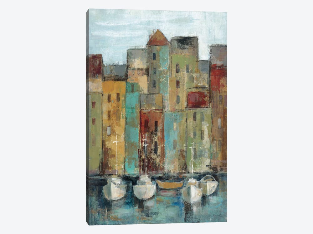 Old Town Port I  by Silvia Vassileva 1-piece Canvas Artwork