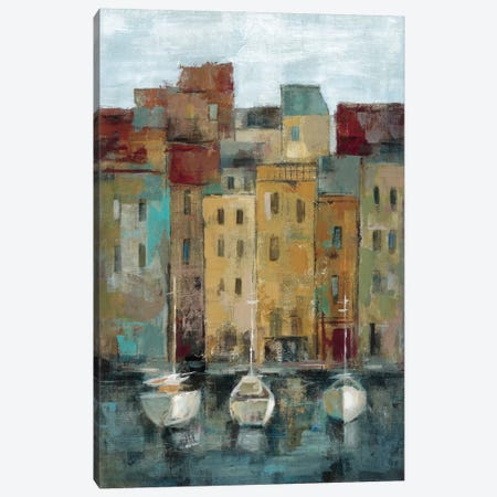 Old Town Port II  Canvas Print #WAC1450} by Silvia Vassileva Canvas Wall Art