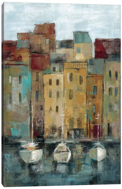 Old Town Port II  Canvas Print #WAC1450