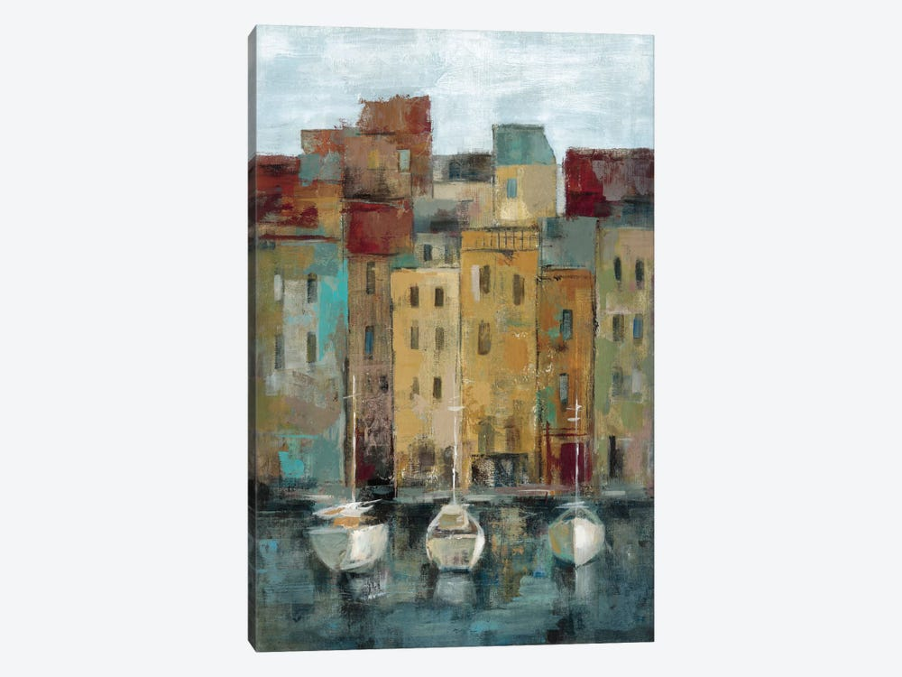 Old Town Port II 1-piece Canvas Artwork