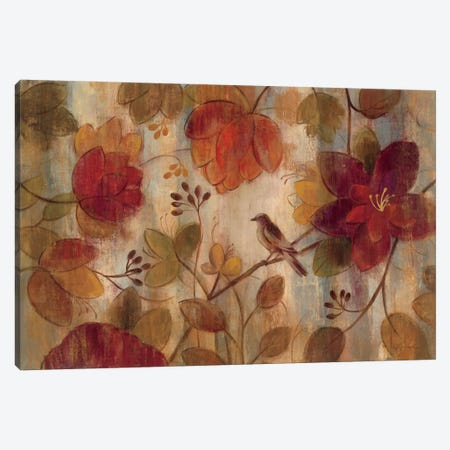 Exotic Garden  Canvas Print #WAC1451} by Silvia Vassileva Canvas Artwork