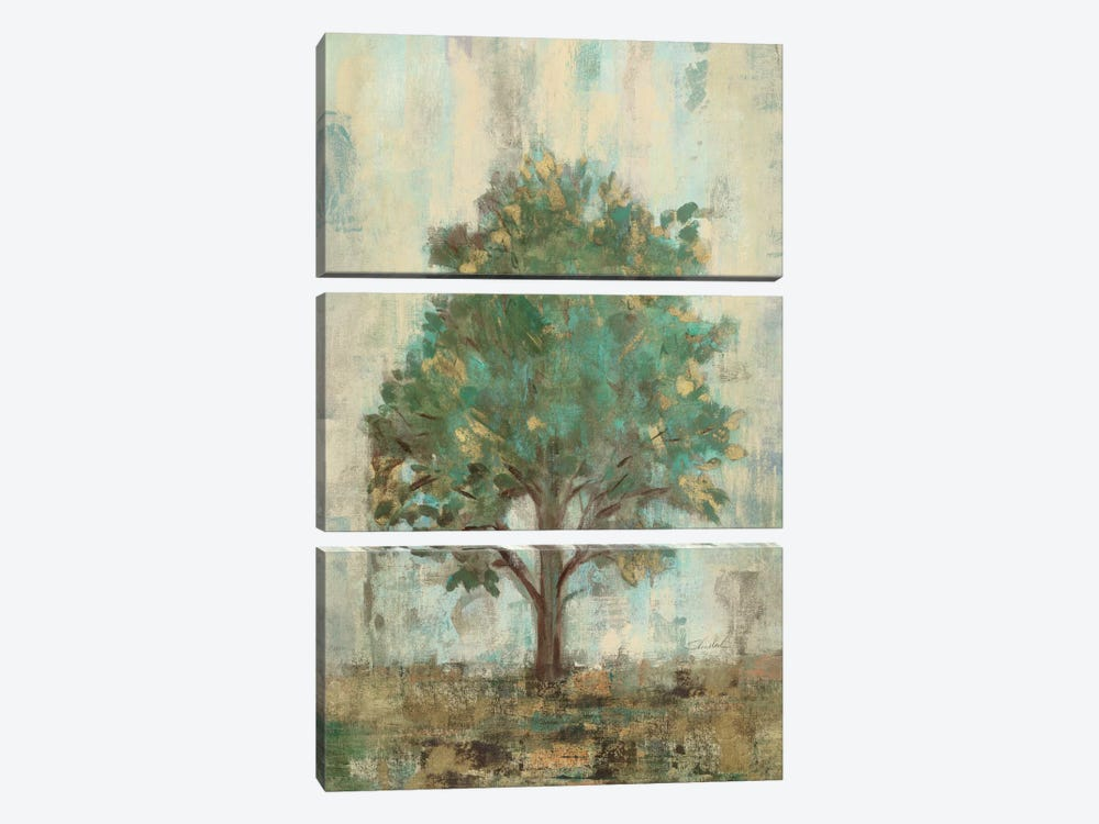 Verdi Trees I by Silvia Vassileva 3-piece Canvas Artwork