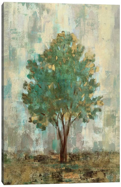 Verdi Trees II Canvas Art Print