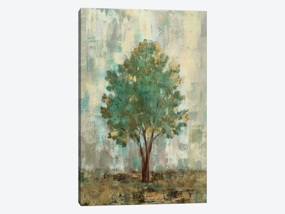 Verdi Trees II  by Silvia Vassileva 1-piece Canvas Print