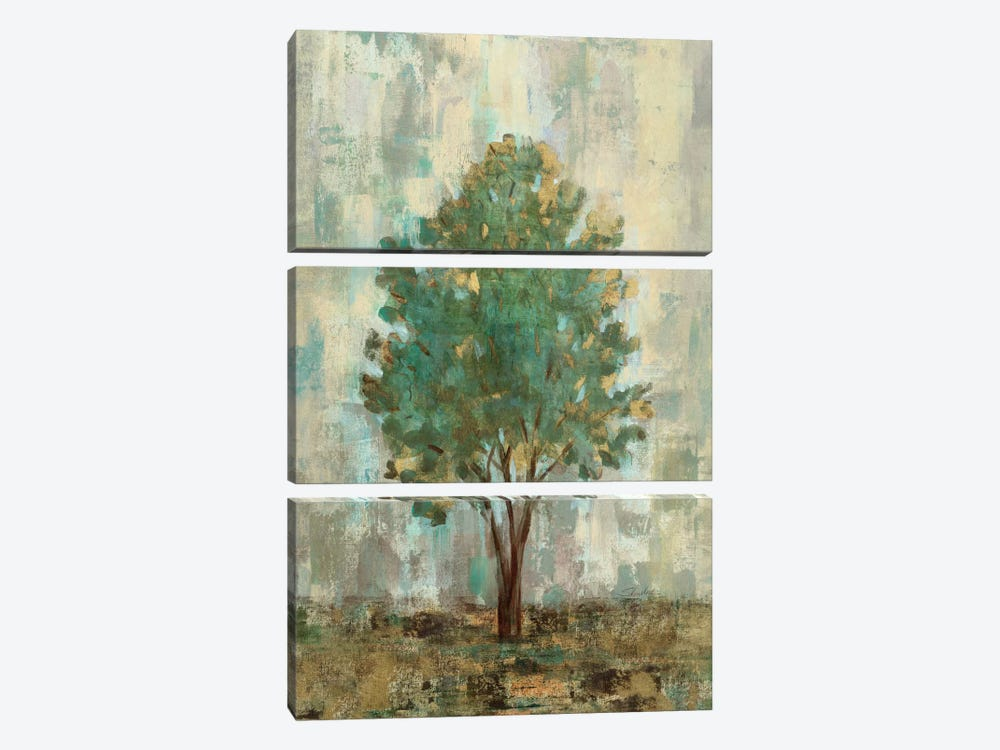 Verdi Trees II  by Silvia Vassileva 3-piece Art Print