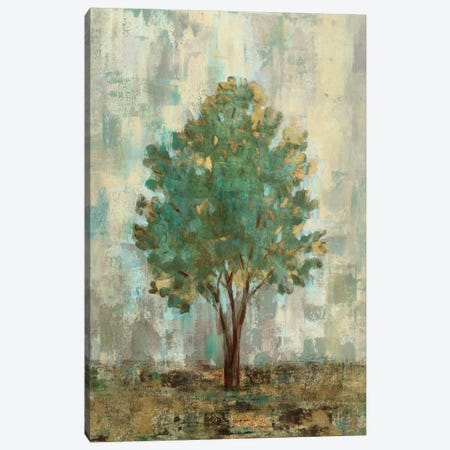 Verdi Trees II  3-Piece Canvas #WAC1455} by Silvia Vassileva Canvas Print