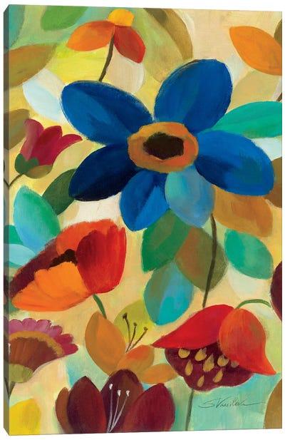 Summer Floral Panel I  Canvas Print #WAC1456