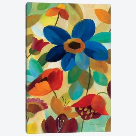 Summer Floral Panel I  Canvas Print #WAC1456} by Silvia Vassileva Canvas Art Print
