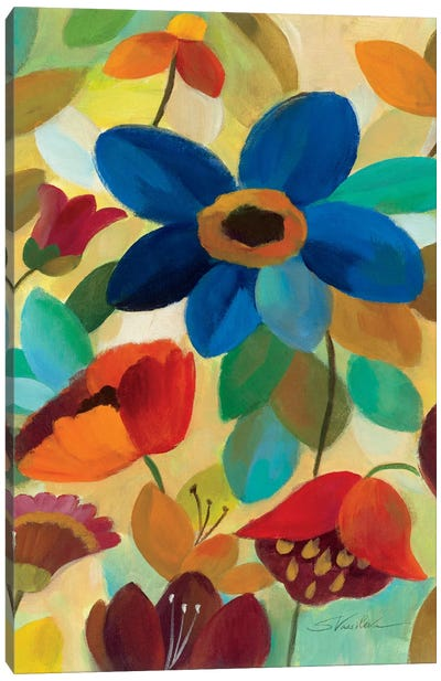 Summer Floral Panel I  Canvas Art Print