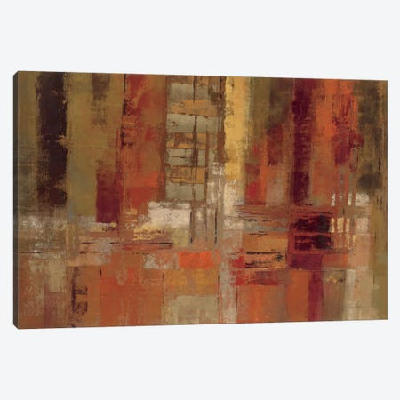 Sunset Street  Canvas Print #WAC1459} by Silvia Vassileva Canvas Wall Art