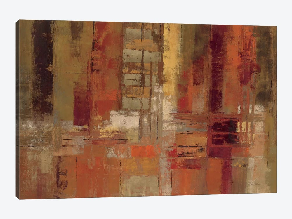 Sunset Street by Silvia Vassileva 1-piece Canvas Art Print