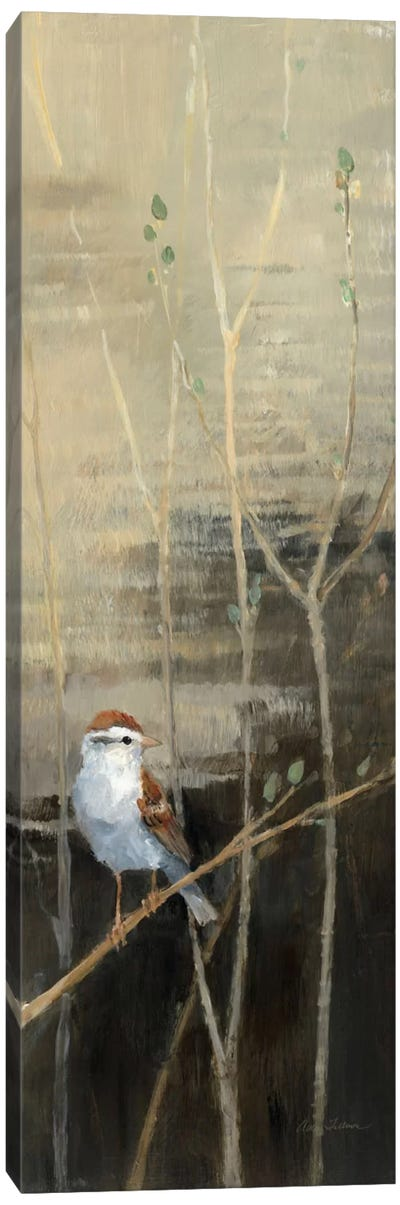 Sparrows at Dusk I  Canvas Art Print