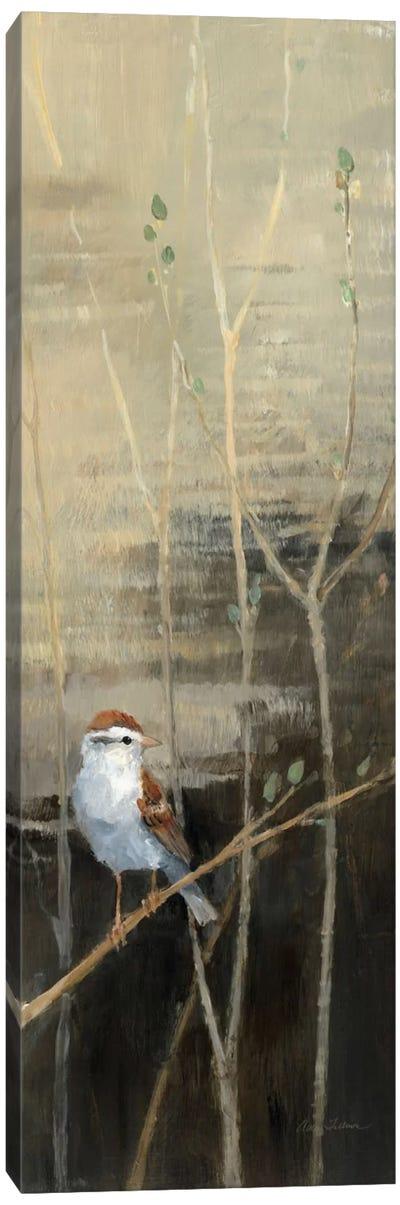 Sparrows at Dusk I  Canvas Art Print