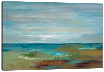 Wispy Clouds  Canvas Art Print