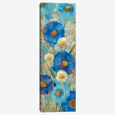 Sunkissed Blue and White Flowers II Canvas Print #WAC1462} by Silvia Vassileva Canvas Print