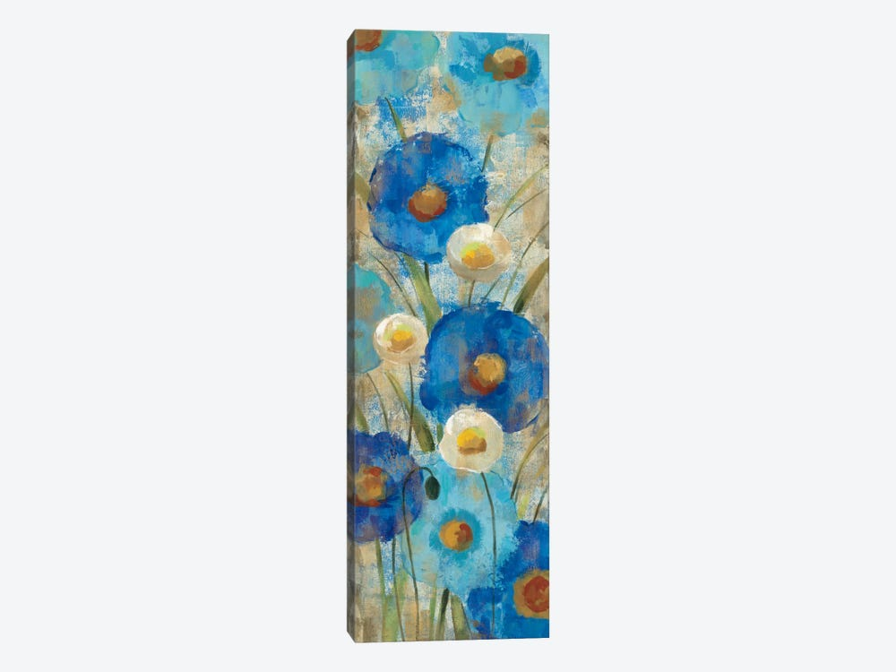 Sunkissed Blue and White Flowers II by Silvia Vassileva 1-piece Art Print