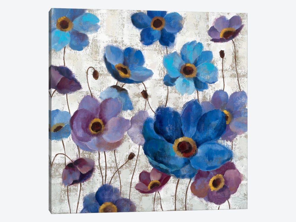 Bold Anemones I by Silvia Vassileva 1-piece Canvas Artwork