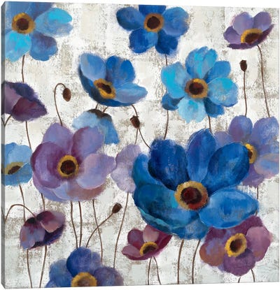 Bold Anemones I Canvas Art Print