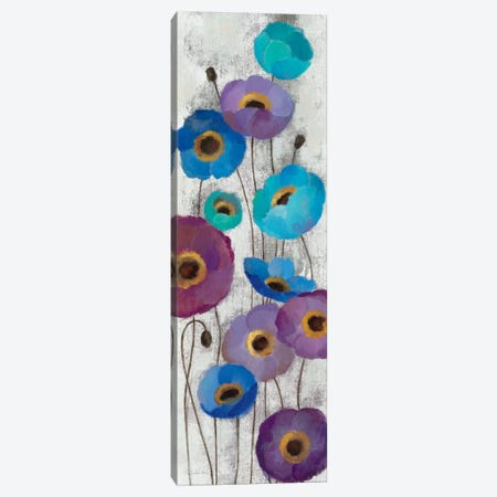 Bold Anemones Panel II Canvas Print #WAC1464} by Silvia Vassileva Canvas Wall Art