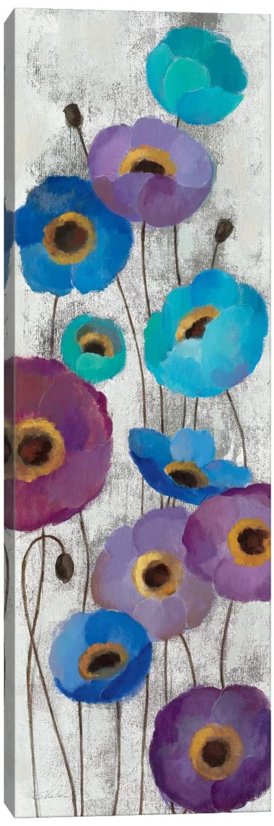 Bold Anemones Panel II Canvas Print #WAC1464