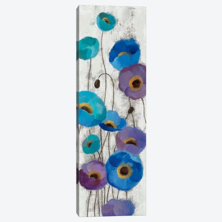 Bold Anemones Panel III Canvas Print #WAC1465} by Silvia Vassileva Canvas Art