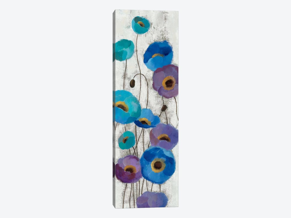 Bold Anemones Panel III by Silvia Vassileva 1-piece Canvas Wall Art