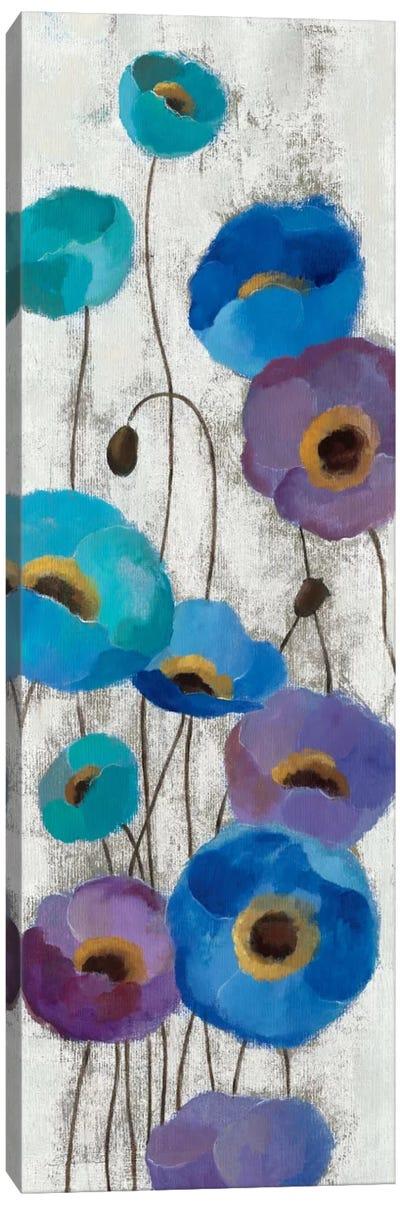 Bold Anemones Panel III Canvas Art Print