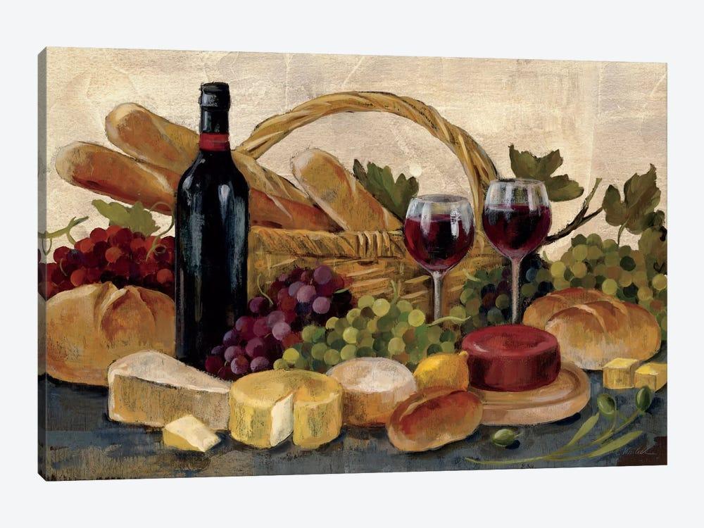 Tuscan Evening Wine  by Silvia Vassileva 1-piece Art Print