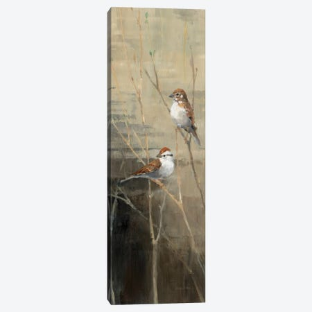 Sparrows at Dusk II  Canvas Print #WAC146} by Avery Tillmon Canvas Art