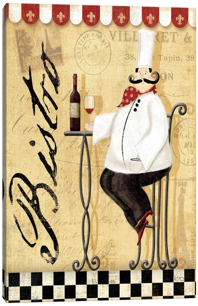 Chef's Break I  Canvas Print #WAC1487
