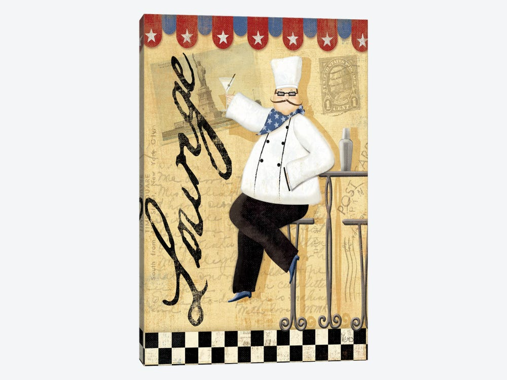 Chef's Break II by Veronique 1-piece Art Print