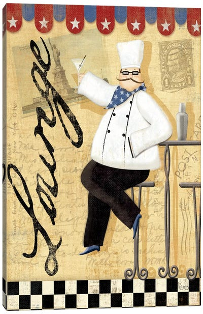 Chef's Break II  Canvas Art Print