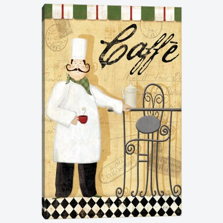 Chef's Break III  Canvas Print #WAC1489} by Veronique Art Print