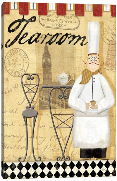 Chef's Break IV Canvas Art Print