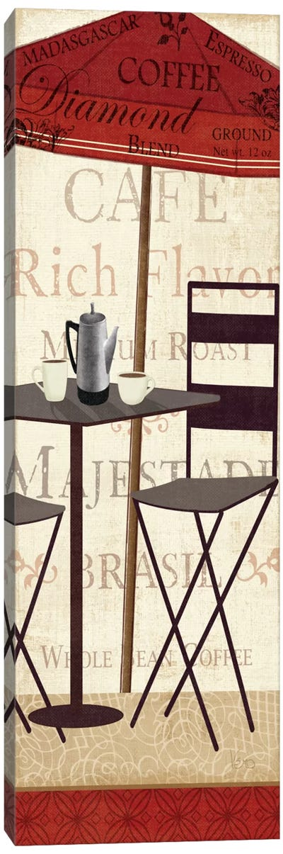 Tango Coffee II Canvas Art Print
