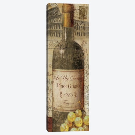 European Wines I  Canvas Print #WAC1493} by Veronique Canvas Artwork