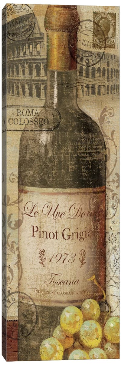 European Wines I  Canvas Art Print