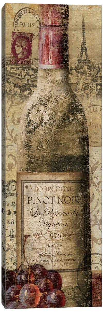 European Wines II  Canvas Art Print