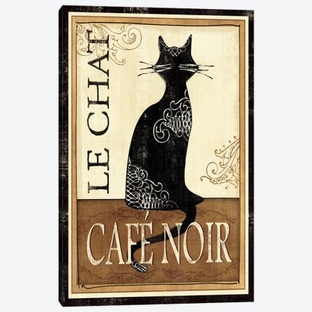 Le Chat Canvas Print #WAC1498} by Veronique Canvas Artwork