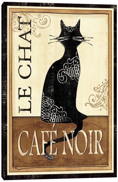 Le Chat Canvas Art Print