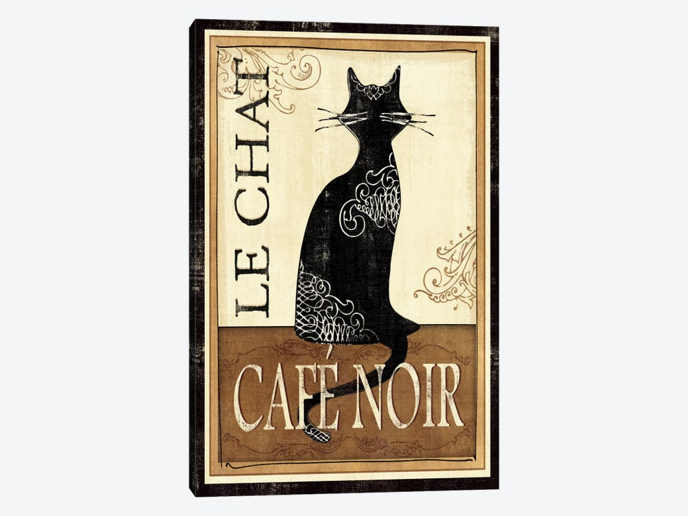Le Chat by Veronique 1-piece Canvas Wall Art