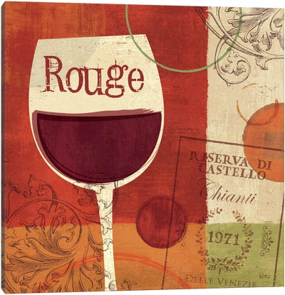 Cheers! Rouge Canvas Art Print