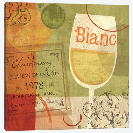 Cheers! Blanc Canvas Print #WAC1502} by Veronique Canvas Wall Art