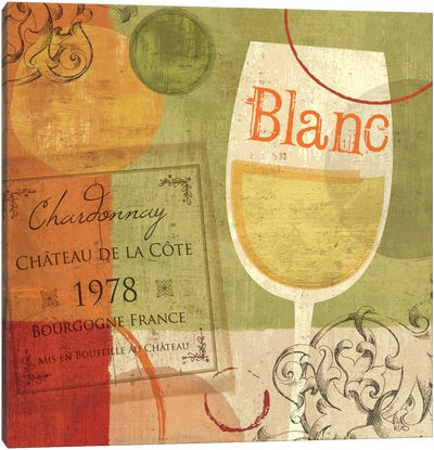 Cheers! Blanc Canvas Art Print